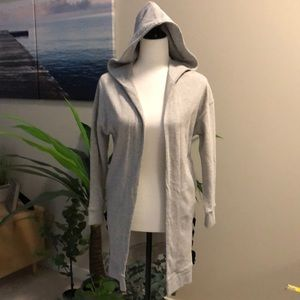 NEW Dex long hooded sweater size XS